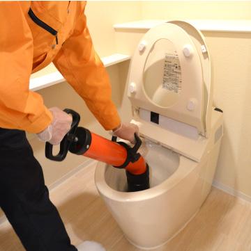 トイレトラブルの作業